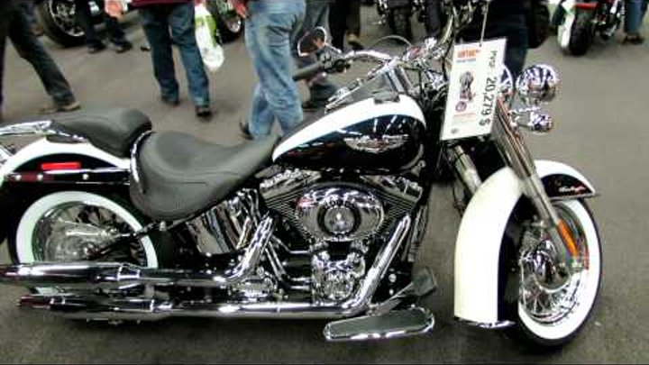 2012 Harley-Davidson Softail Deluxe at 2012 Montreal Motorcycle Show