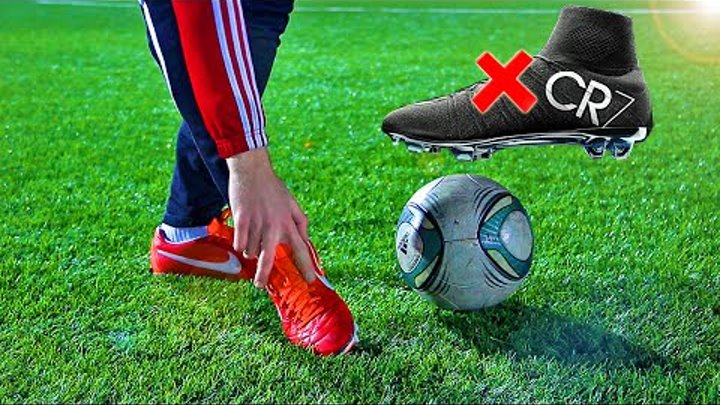 Cristiano Ronaldo Free Kick Tutorial | How To Shoot A Knuckle Ball german/english