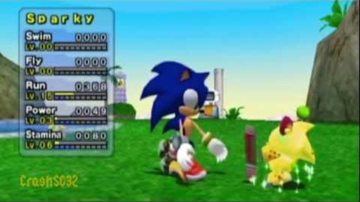 How to make a Super Sonic chao - Part 2