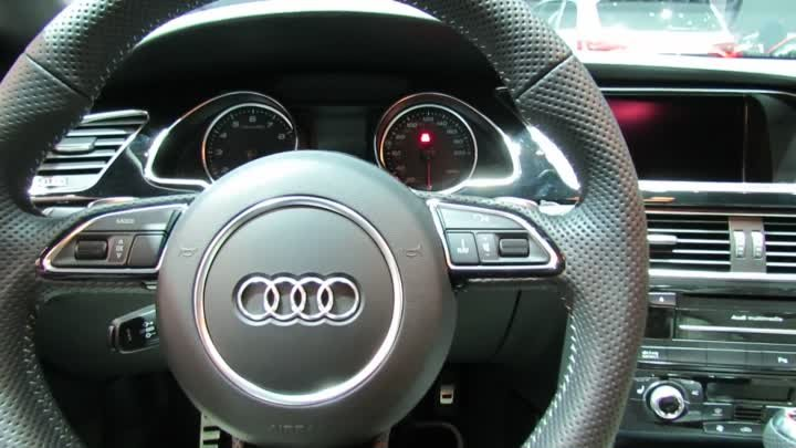 2012 Audi RS5 Exterior and Interior at 2012 New York International Auto Show