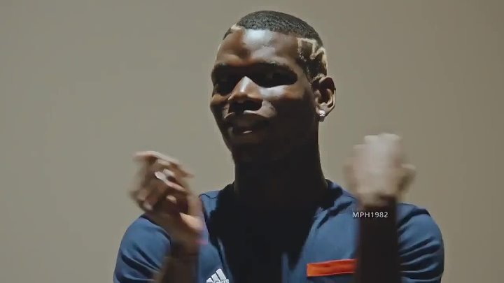 Paul Pogba dancing to Rick Astley — Never Gonna Give You Up