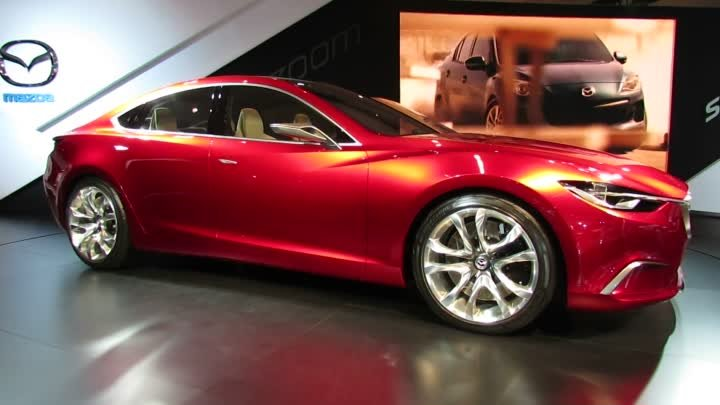 Mazda Takeri Concept Exterior at 2012 New York International Auto Show NYIAS