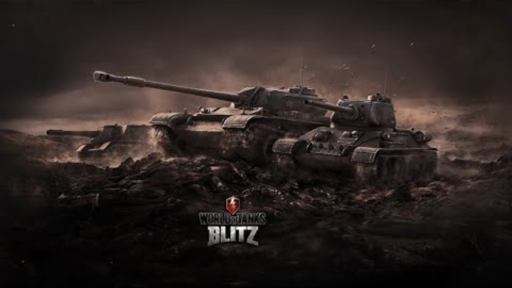 World of Tanks Blitz - Летсплей № 2 на Android(анализ боя)