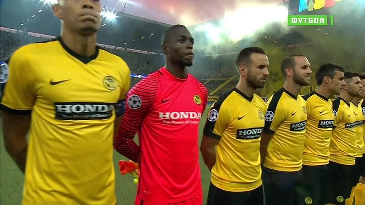 UCL 2016-17 - Play-off Round - 16.08.2016 - 1st Leg - BSC Young Boys v Borussia M - 720p 50fps - Papai