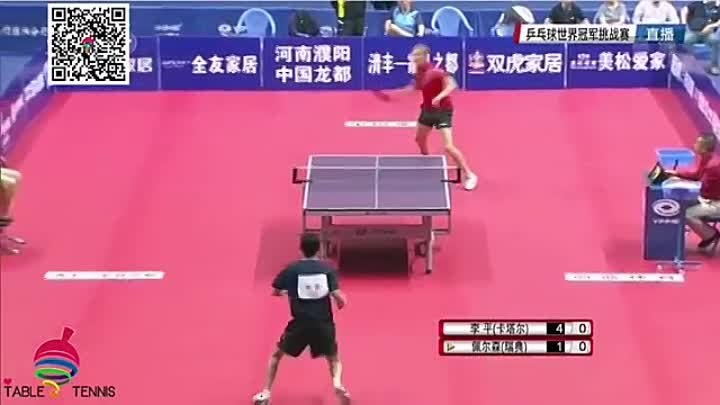 2016 World Champion Table Tennis Challenge Competition 4th Match (1)