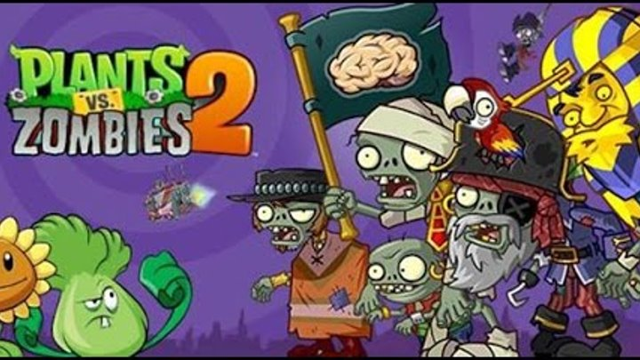 Plants VS Zombies 2! Ancient Egypt! Уровень 17! Мало растений! Серия 93! Растения Против Зомби 2