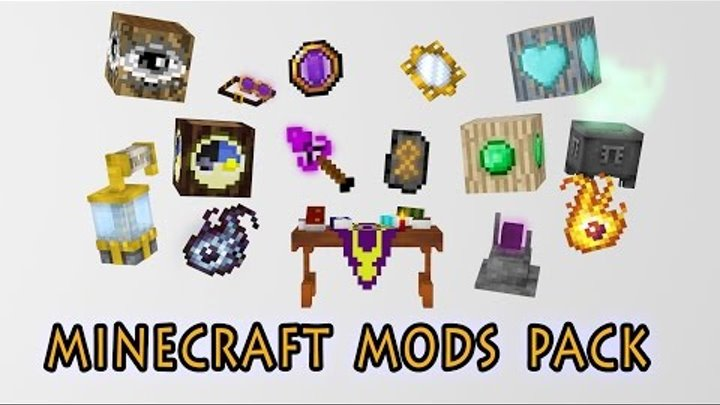 Minecraft Mods Pack [Cinema 4D] Free Download