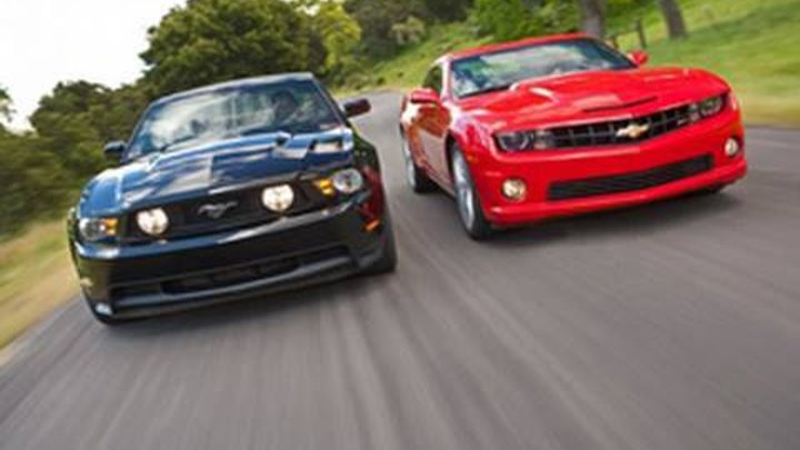 2010 Chevrolet Camaro SS vs. 2011 Ford Mustang GT - Comparison Test