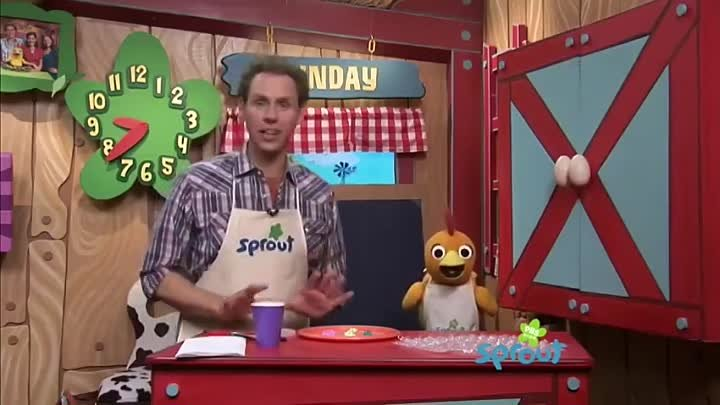 Kids Crafts- Bubble Painting with Sean & Chica on The Sunny Side Up Show