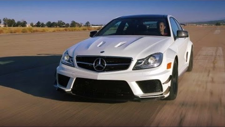 2012 Mercedes-Benz C63 AMG Coupe Black Series: The German Muscle Car - Ignition Episode 27