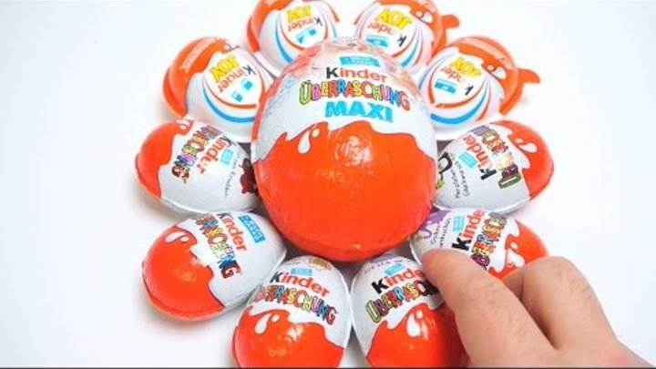KINDER SURPRISE 2015 65 EGGS NEW COLLECTIONS MINIONS, SPANCH BOB, Frozen, Barbie, Big Hero, Ant-man