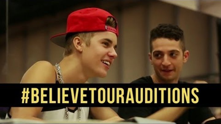 JUSTIN BIEBER BELIEVE TOUR - ONLINE DANCE AUDITIONS [DS2DIO]