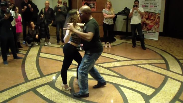 Paris Kizomba Congress 2015 Fred Maestro Kizomba Intermediate Class