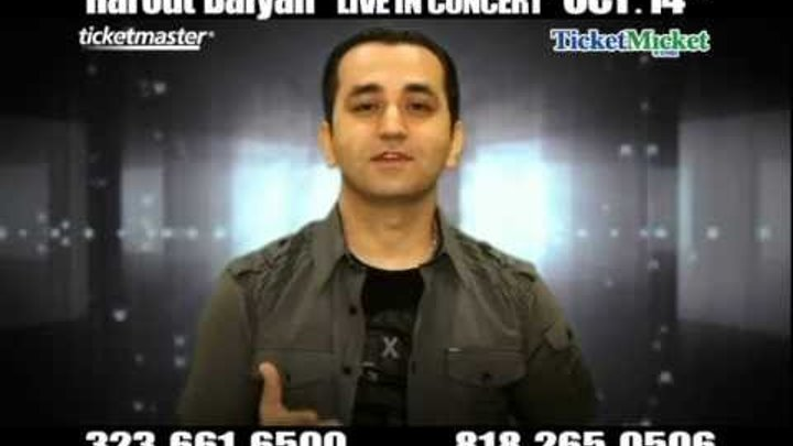 Harout Balyan Live In Concert October 14th 2012 7pm