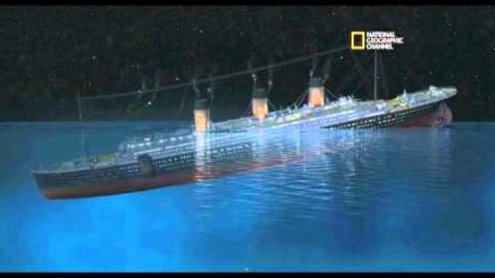 Titanic - The Sinking - New Theory 2012 (by James Cameron)