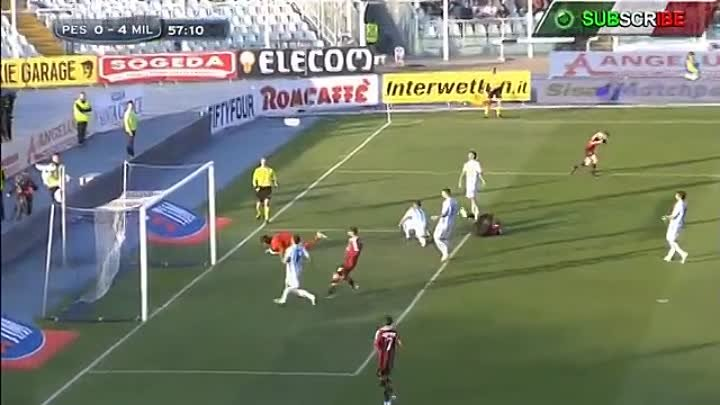 Mario Balotelli GOALS & Skills US Pescara vs AC Milan (0-4) Official HD [05-05-13]