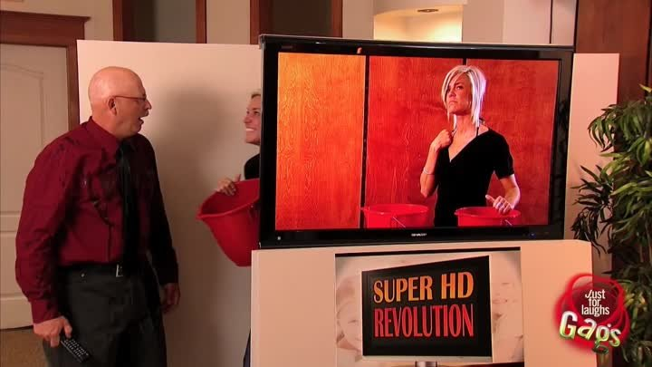 Best Super HD 3D TV - So Real You Can Feel It!