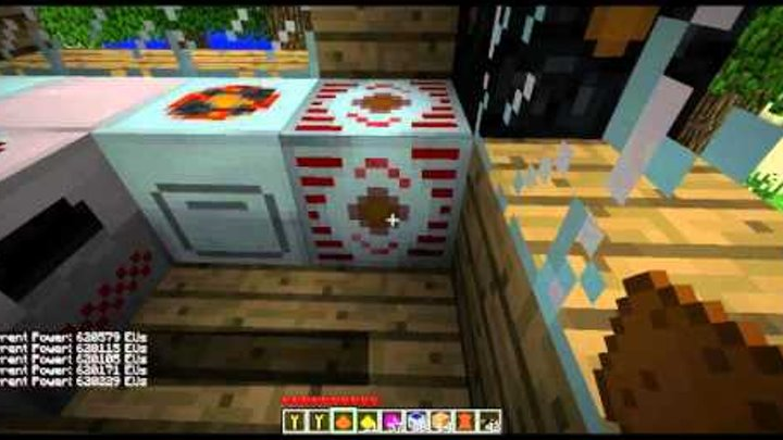 Let's play minecraft 1.7.3 +build craft + Industrial Craft EP1