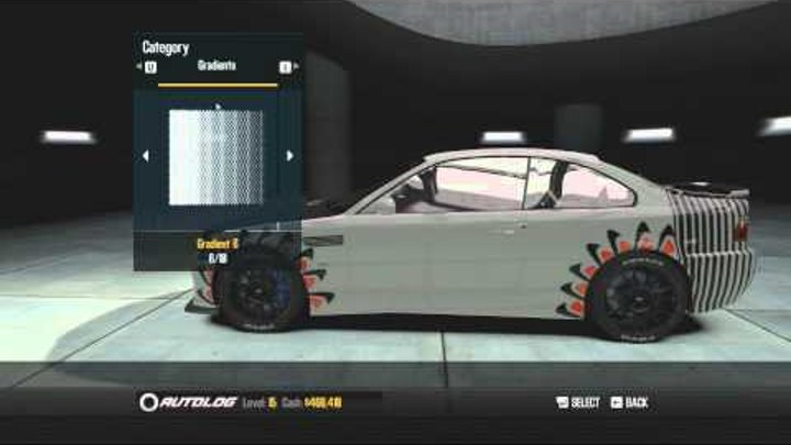 Need for Speed: Shift 2 - Bmw M3 Customization