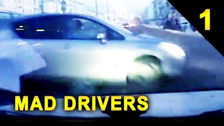 MAD DRIVERS Worldwide #1 - 17 MAD Videos of Car Crashes (HD Compilation)