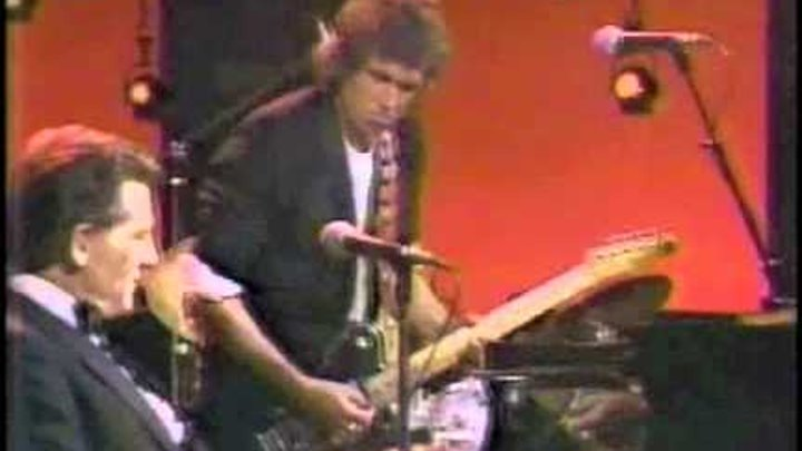 Keith Richards & Jerry Lee Lewis - Whole lotta shakin' - 1983 TV