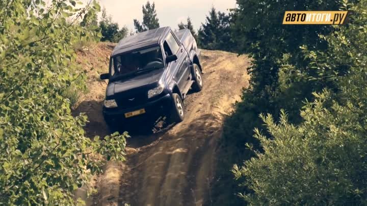 Renault Duster - UAZ Patriot - Chevrolet Niva. Тест-драйв