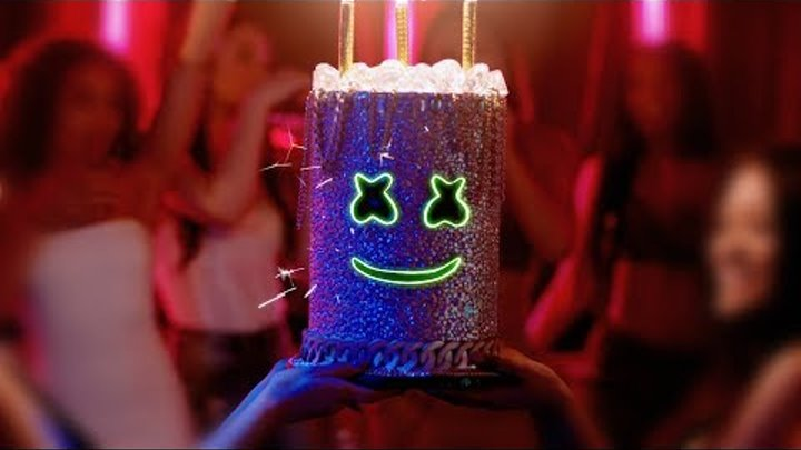 Marshmello - Light It Up ft. Tyga & Chris Brown (Official Music Video)