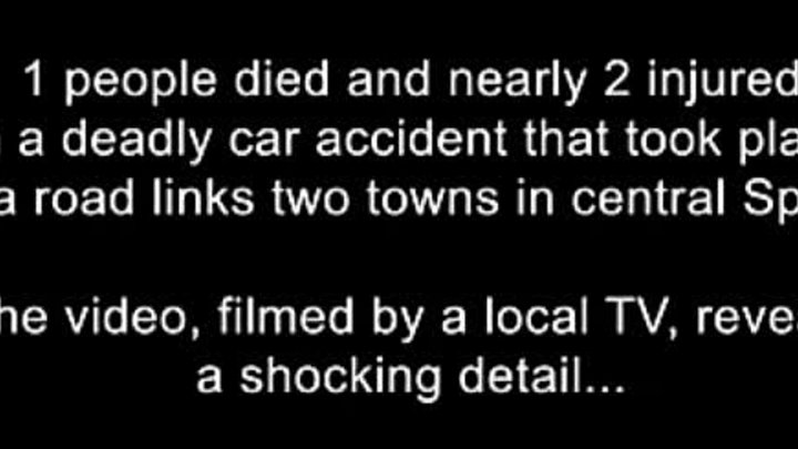 Real GHOST caught on tape after fatal car crash accident GHOST CAUGHT ON TAPE Scary videos of ghosts