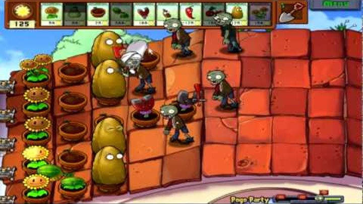 Plants Vs. Zombies Part 25: Pogo Hell