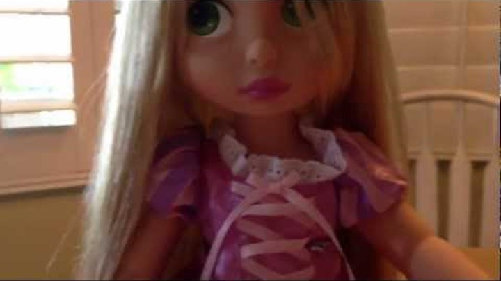 Disney Animators Collection Rapunzel Doll Review