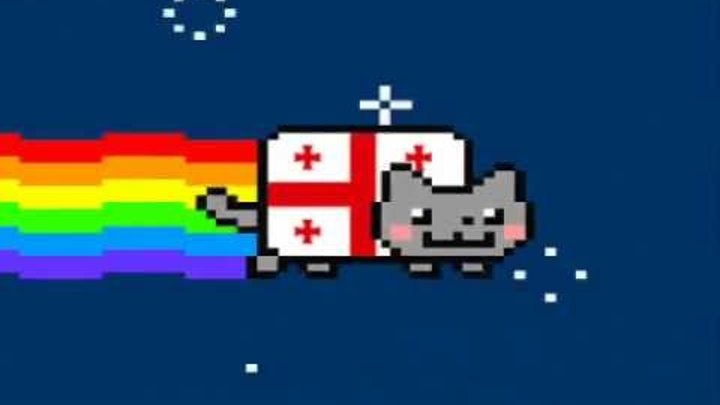 Georgian NYAN CAT!