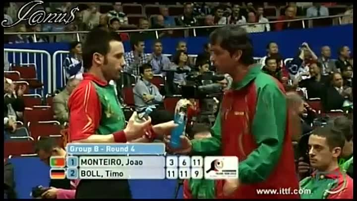 2012 World Team Table Tennis Championships, 25 Mar - 01 Apr, Dortmund, GER [1st Stage] GROUP B, Round4 GERMANY - PORTUGAL 3