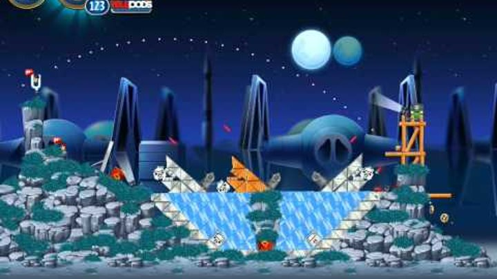Angry Birds Star Wars 2! Rebels! Bright side! Levels 1 2 3! Part 39! Playthrough