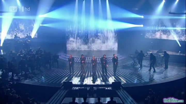 """Take That """"The Flood"""" X Factor 2010 (Full Version) Live Results Show 6 HD 1920 1080"""