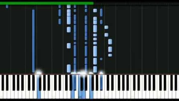 James Blunt - Same mistake [Piano Tutorial] Synthesia | passkeypiano