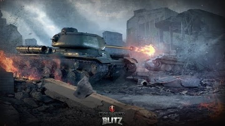 World of Tanks Blitz - Летсплей №30(играем во взводе с соклановцем )