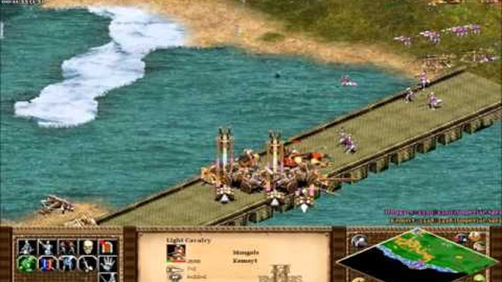 Age of Empires 2 HD Edition, Genghis Khan Campaign Mission 6 Pax Mongolia