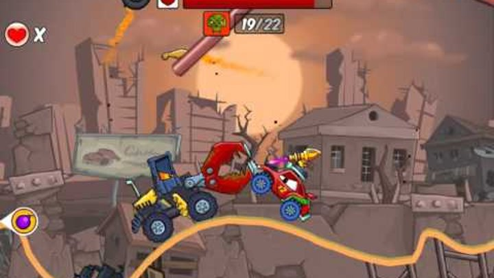 Флеш игра Хищные машины 2 Делюкс арена 7 серия Игра Car Eats Car 2 Deluxe arena 7 series