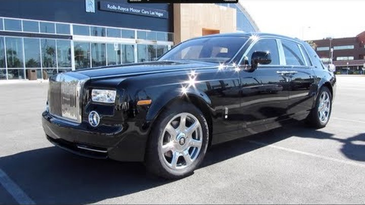 2011 Rolls Royce Phantom Start Up, Exhaust, and In Depth Tour