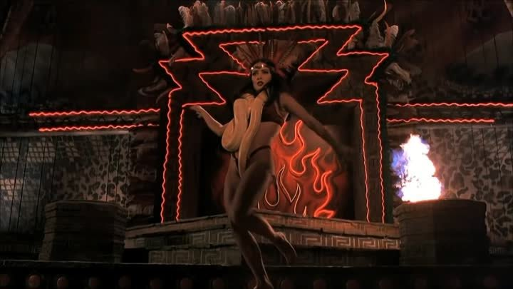 From Dusk Till Dawn HD table dance scene with Salma Hayek After Dark