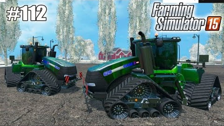 Farming Simulator 15 моды: ТРАКТОР CASE IH 620 QUADTRAC (112 серия)