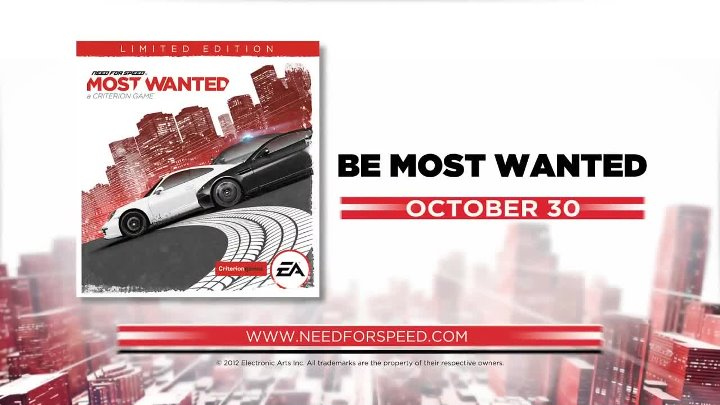 Need for Speed- Most Wanted 'E3 2012 Debut Trailer' [1080p]