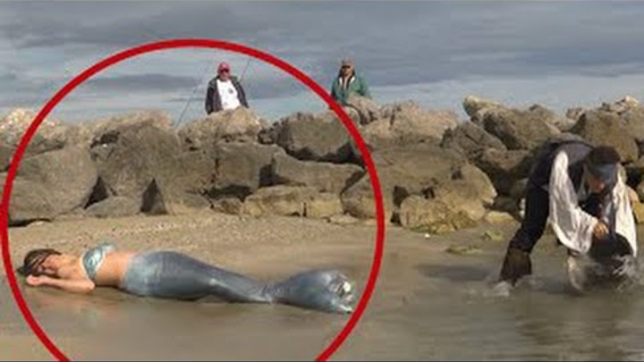 10 Real Life Mermaids Caught on Camera | 10 Videos Mysterious Creatures Caught On Tape