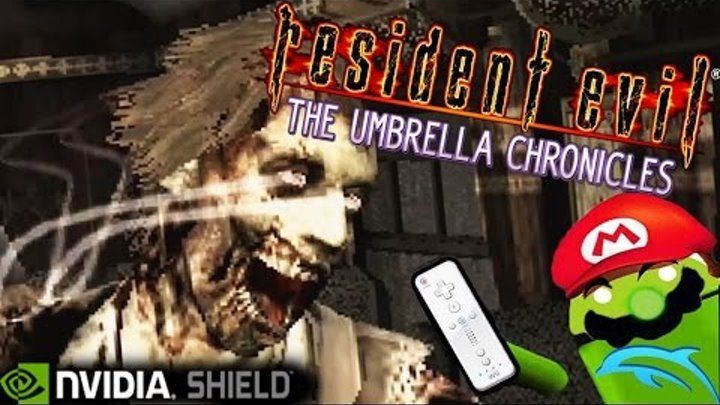 Resident Evil: The Umbrella Chronicles [Wii TEST] Dolphin Emu on NVIDIA  SHIELD Android TV Tegra X1