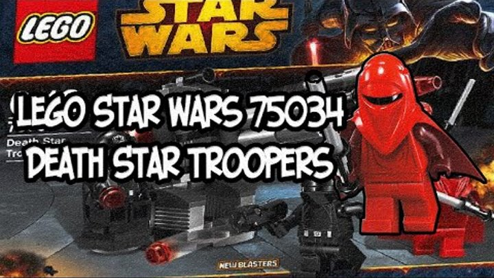 Lego Star Wars 75034 Death Star Troopers Review
