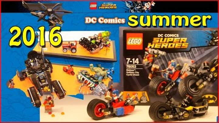 Lego DC Comics Super Heroes Summer 2016 Sets Pictures From The Nuremberg Toy Fair. Review.