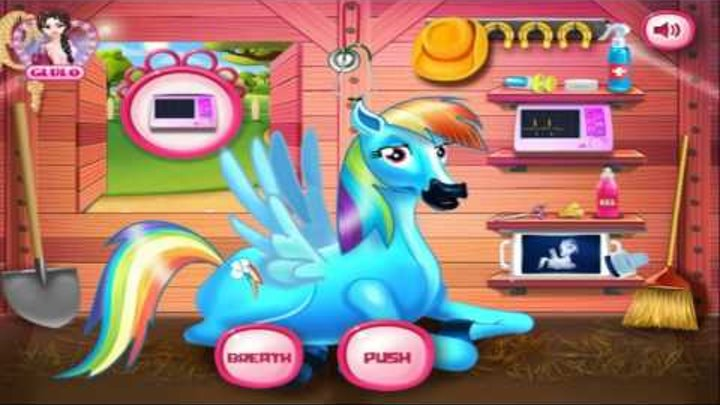 Rainbow Dash And The New Born Baby | Best Game for Little Kids- Baby Games To Play