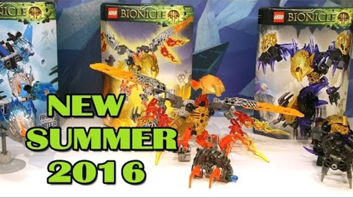 Lego Bionicle Summer 2016 Sets Pictures From The Nuremberg Toy Fair. Review.