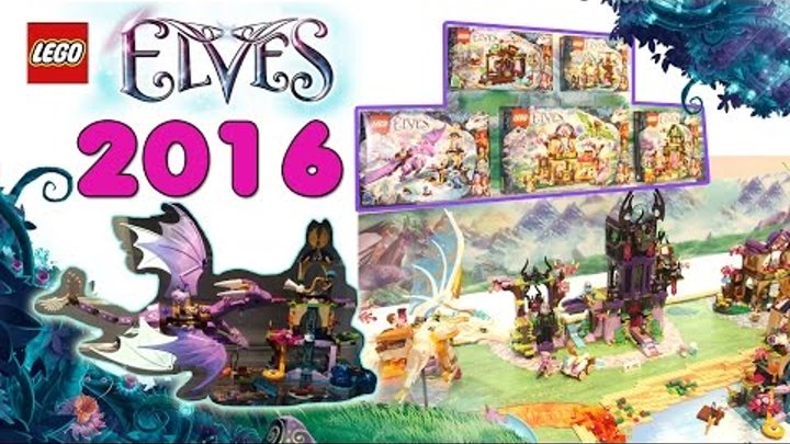 Lego Elves Summer 2016 Sets Pictures From The Nuremberg Toy Fair. Review.