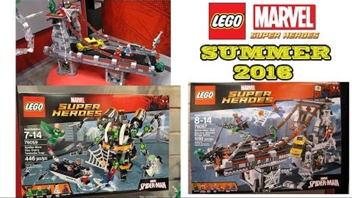Lego Marvel Super Heroes Summer 2016 Sets Pictures From The Nuremberg Toy Fair. Review.